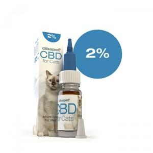 CIBAPET | CBD OIL FOR CATS | 2% CBD | 200mg CBD | 10ml