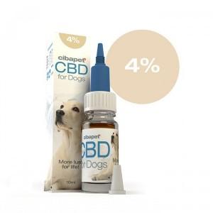 CIBAPET | CBD OIL FOR DOGS | 4% CBD | 400mg CBD | 10ml