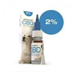 CIBAPET | CBD OIL FOR DOGS | 2% CBD | 200mg CBD | 10ml