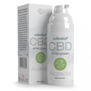 CIBDOL | CBD ACZEDOL | ACNE CREAM