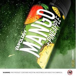 VAPOLOGY | MANGO PINEAPPLE | 30ml | 25mg NIC SALT