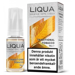 LIQUA | TRADITIONAL TOBACCO | 30ml | 0mg/18mg