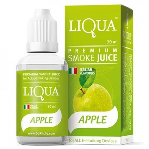 LIQUA | APPLE | 30ml | 0mg/18mg